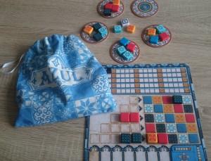 Spielaufbau Azul